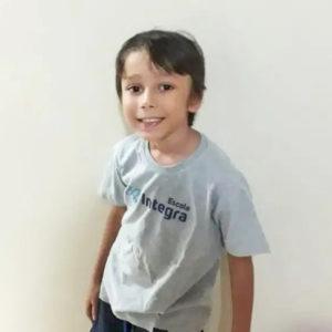 Gabriel com uniforme da Integra